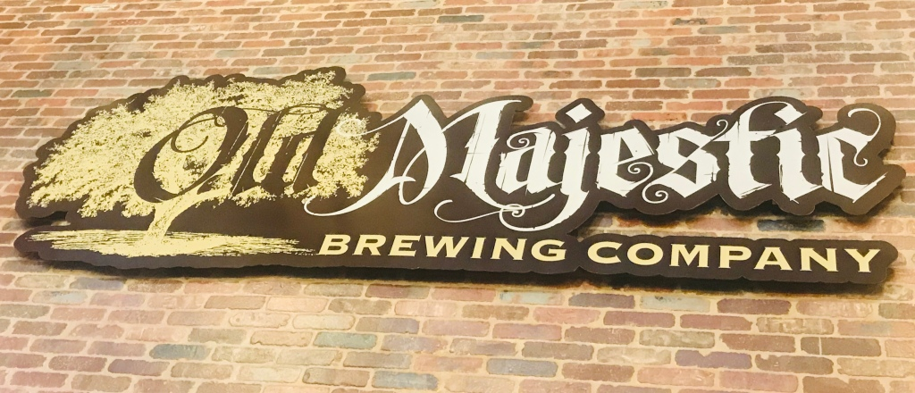 Old Majestic Brewing Sign, The Beer Battle